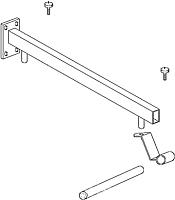 Кронштейн для умывальника Акватон Ричмонд 150 (1A156603RD000) -