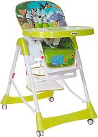 Стульчик для кормления Pituso Bonito В мире животных / HC21-Green (зеленый) -