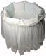 Комплект в кроватку Lappetti Эстель / 5034/3 (бирюзовый) -