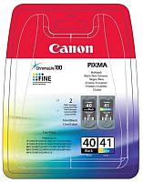 Комплект картриджей Canon PG-40+CL-41 / 0615В043 -