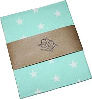 Пеленка Пеленкино Белые звезды на мятном / DE 0293 -