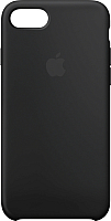 Чехол-накладка Apple Silicone Case для iPhone 8/7 Black / MQGK2ZM/A -