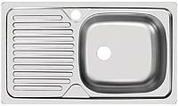Мойка кухонная Ukinox CLM760.435 GT5K 1R -