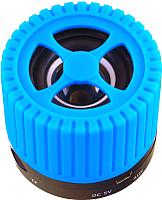 Портативная колонка Ginzzu GM-988C (голубой) -