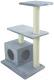Комплекс для кошек UrbanCat K96-03-03 (серый) -