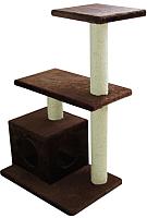 Комплекс для кошек UrbanCat K96-03-06 (коричневый) -