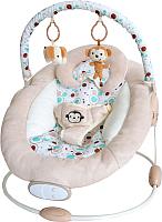 Детский шезлонг La-di-da Счастливые обезьянки / BR00010-5 -