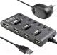USB-хаб Ginzzu GR-487UAB -