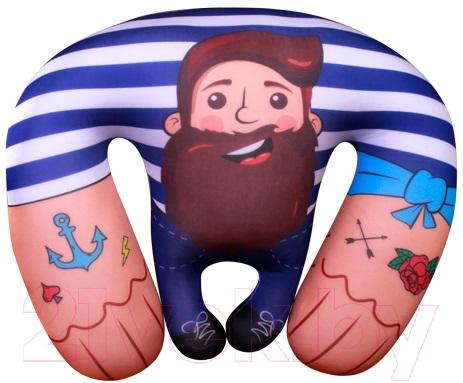 Купить Мягкая игрушка Мнушки, Морской волк / T3527C1704A005BU, Россия, синий, трикотаж