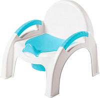 Детский горшок Пластишка 431326702 (голубой) -