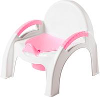 Детский горшок Пластишка 431326705 (розовый) -