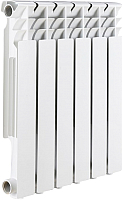 Радиатор биметаллический Rommer Optima 500 (1 секция) -