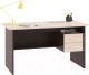 Письменный стол Сокол-Мебель СПм-07.1 (венге/беленый дуб) -