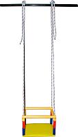 Качели Формула здоровья КН-03 (желтый/радуга) -