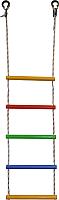 Лестница веревочная Формула здоровья ЛВ5-3В (радуга) -