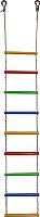 Лестница веревочная Формула здоровья ЛВ9-3В (радуга) -