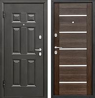 Входная дверь Промет Виктория Царга венге (88x206, левая) -
