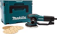 Профессиональная эксцентриковая шлифмашина Makita BO6050J -
