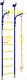Детский спортивный комплекс Romana Комета 5 ДСКМ-2-8.06.Г1.490.18-24 (синяя слива) -