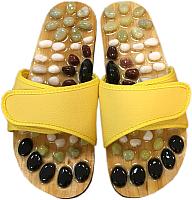 Массажные тапочки Casada Stone Steps CS-314 (S, желтый) -