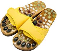 Массажные тапочки Casada Stone Steps CS-316 (L, желтый) -