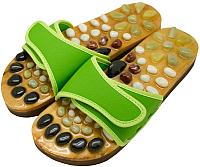 Массажные тапочки Casada Stone Steps CS-313 (L, зеленый) -