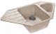 Мойка кухонная GranFest Corner GF-C950E (песочный) -