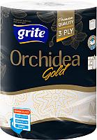 Бумажные полотенца Grite Orchidea Gold (1рул) -