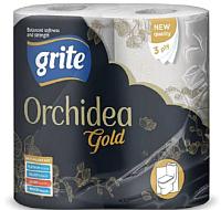 Туалетная бумага Grite New Orhidea Gold (4рул) -