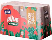 Туалетная бумага Grite Plius Ecologica (24рул) -