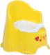 Детский горшок Dunya Комфорт 11111 (желтый/оранжевый) -
