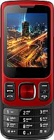 Мобильный телефон Vertex S107 (красный) -