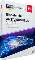 ПО антивирусное Bitdefender Antivirus Plus 2018 Home/1Y/1PC (WB11011001) -