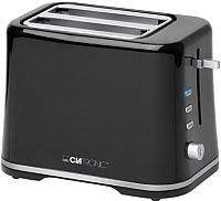 Тостер Clatronic TA 3554 (черный/серебристый) -