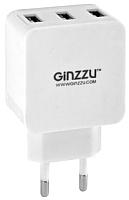 Адаптер питания сетевой Ginzzu GA-3315UW (белый) -