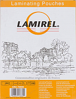 Пленка для ламинирования Fellowes Lamirel LA-78656 А4, 75мкм (100шт) -