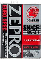 Моторное масло Idemitsu Zepro Euro Spec 5W40 SN/СF / 1849041 (4л) -
