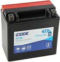 Мотоаккумулятор Exide ETX14-BS (12 А/ч) -