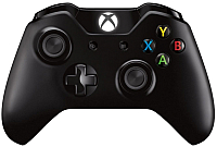 Геймпад Microsoft Xbox One / 6CL-00002 (черный) -