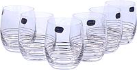Набор стаканов Bohemia Crystal Club 25180/M8434/300 (6шт) -