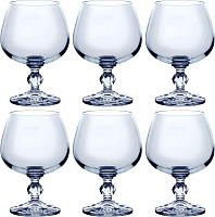 Набор бокалов для коньяка Bohemia Crystal Claudia 40149/250 (6шт) -