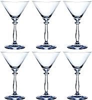 Набор бокалов для мартини Bohemia Crystal Angela 40600/285 (6шт) -