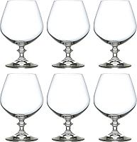 Набор бокалов для коньяка Bohemia Crystal Angela 40600/400 (6шт) -