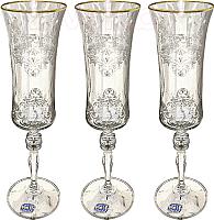 Набор бокалов Bohemia Crystal Grace 40792/Q8982/190 (6шт) -
