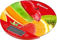 Кухонные весы Sakura SA-6076F (фрукты) -