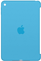 Бампер для планшета Apple Silicone Case for iPad mini 4 (Blue) / MLD32ZM/A -