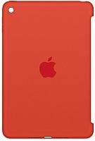 Бампер для планшета Apple Silicone Case for iPad mini 4 (Orange) / MLD42ZM/A -