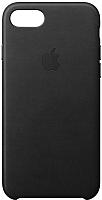 Чехол-накладка Apple Leather Case для iPhone 8/7 / MQH92 -