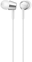 Наушники-гарнитура Sony MDR-EX155APW (белый) -