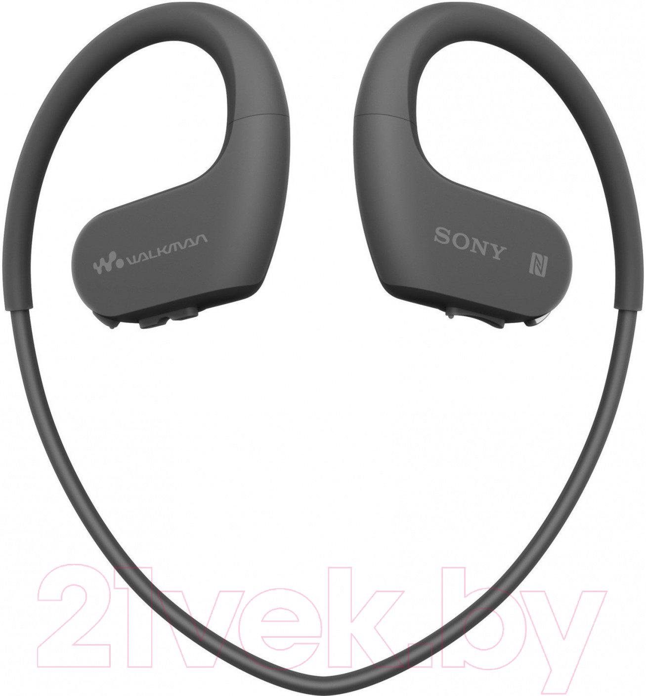 Купить Наушники-плеер Sony, NW-WS623B (черный), Малайзия